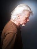 Profil d'homme supérieur Photographie stock libre de droits