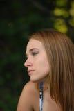 Profil de beauté Photo libre de droits