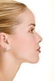 Profil de beauté Photo stock