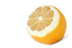 Profil de citron Photo stock