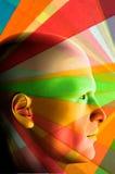 Profil de couleur illustration libre de droits