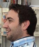 Profil de Happyness photo stock