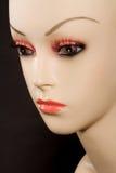 Profil de mannequin Photographie stock