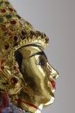 Profil de marionnette thaïe Image libre de droits