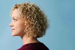 Profil der Frau Lizenzfreie Stockfotografie
