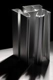 Profil en aluminium photo stock