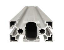 Profil en aluminium Photos libres de droits