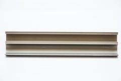 Profil en aluminium anodisé Extrusions en aluminium, profils en aluminium expulsés, Photos stock
