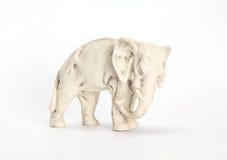 Profil för århundrade för statyettelefant XIX (som grillar på ett kex) Royaltyfri Bild