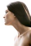 profil femelle photo stock