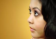Profil femelle Photographie stock libre de droits