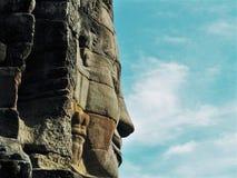 Profil kambodżański imperium Obraz Stock