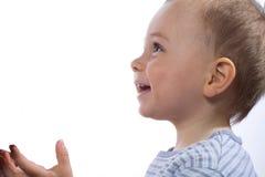 profil młody uśmiechnięci chłopcze Fotografia Stock