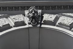 Profil nad archway Zdjęcia Royalty Free