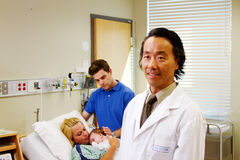 Profil obstetrican Obraz Royalty Free