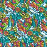 Profil onduleux floral Photographie stock libre de droits
