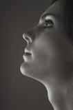 profil piękna kobieta s Zdjęcie Stock