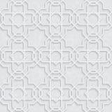 Profil sous convention astérisque d'arabesque avec Grey Background léger grunge, conception traditionnelle, Photos stock