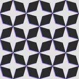 Profil sous convention astérisque de vecteur avec le problème de couleur de déformation Backgroun foncé Image stock