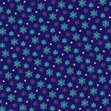 Profil sous convention astérisque juif d'or de bleu de turquoise petit illustration de vecteur