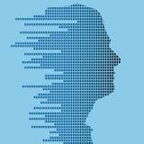 profil technologic Images libres de droits