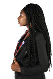 Profile of African American Businesswoman Royalty Free Stock Photography