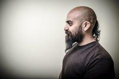 Profile bearded man Royalty Free Stock Photography