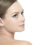 Profile of beautiful face royalty free stock image