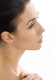 Profile beauty Royalty Free Stock Photo