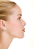 Profile of beauty Stock Photo