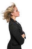 Profile of Businesswoman Royalty Free Stock Images