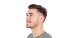 Profile of a casual men Royalty Free Stock Image