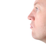 Profile of face Royalty Free Stock Photos