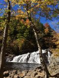Profile falls New Hampshire Royalty Free Stock Images