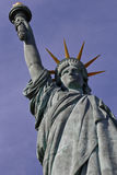 Profile of French Statue of Liberty Replica,  Paris, France, AUGUST 1, 2015 - was given to Citizens of Paris in July 4, 1889 by US Stock Photos