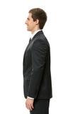 Profile of good-looking businessman Stock Photos