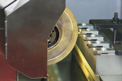 The profile grinding machine Royalty Free Stock Photography