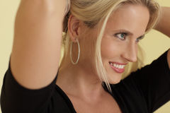 Profile headshot Royalty Free Stock Photo