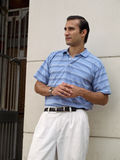 Profile of Hispanic male Royalty Free Stock Photography