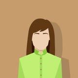 Profile icon female avatar woman portrait Stock Images