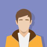Profile icon male avatar portrait casual person Royalty Free Stock Photo