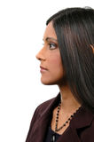 Profile of Indian Woman Royalty Free Stock Photography