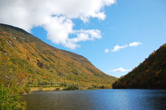 Profile Lake, Franconia Notch, New Hampshire Royalty Free Stock Image