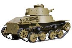 Profile of light tank Stock Photo