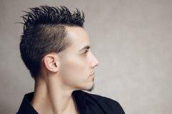 Profile of man Stock Image
