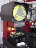 Profile measuring machine Stock Photography