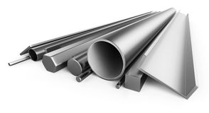 Profile metal stock illustration