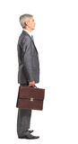 Profile of a middle aged business man Royalty Free Stock Images