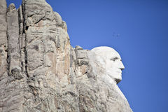 Profile of mt rushmore Royalty Free Stock Photography