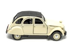 An epic rear Citroen 2CV car stock image